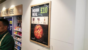 Budgens - 40x30 Magnetic Wall Frame