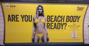 Protein World's Controversial Ad Shows The Disadvantages Of POS